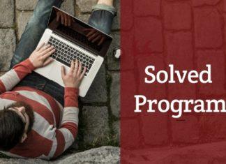 substring program