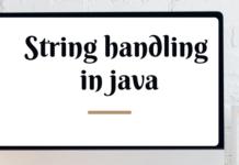 string_handling