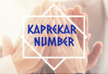 kaprekar number