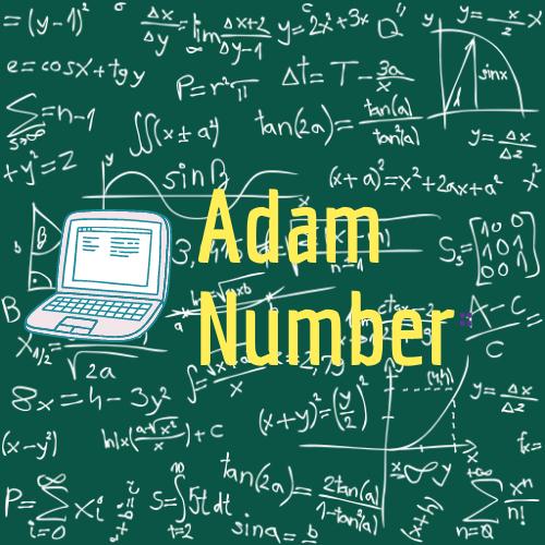 Adam number